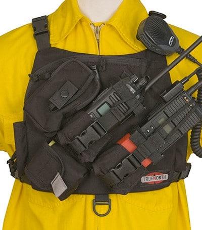 1026 true north radio chest dual universal harness aps radio harness color code at bayanpartner.co