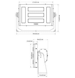 Phoenix ModCom® Lo Series LED Floodlight