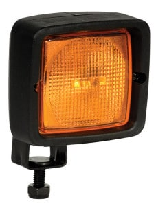 ABL 500 3x3 Compact Halogen Signal Lamp - Amber/Blue