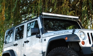 Vision X Jeep Windshields Light Bar Mount