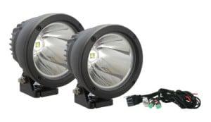 120mm Cannon 25W Single LED Driving Light kit 10º Wide