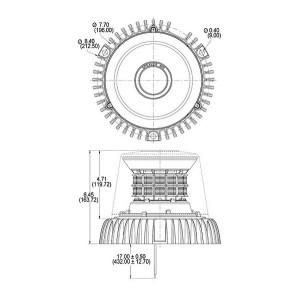 Speaker A601 Series LED Strobe | Beacon