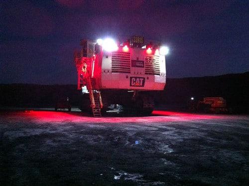 Vision X Kill Zone Led 24v Utility Red Lights Aps