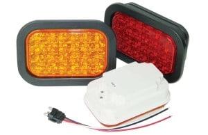 APS MultiVolt 1C35 Series 3×5 LED Stop, Tail & Turn