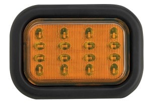 J.W. Speaker A245 MultiVolt LED Turn/Signal Lamp