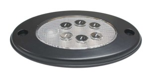 """Grote 4"""" Oval Push Button LED Dome Lamp 12V"""