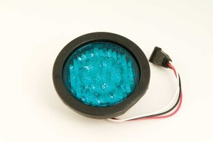 APS MultiVolt 1C34 Series Green LED Lamp