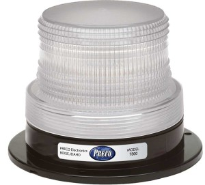 Preco 7300 Series Compact LED Strobe 12-80V