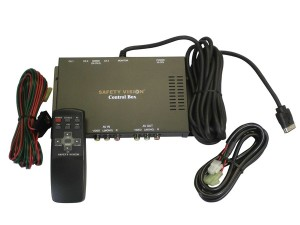 Safety Vision Dual Camera System Control Box (Suit CLCD56 Series)