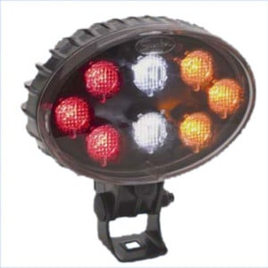 J.W. Speaker A706 LED Oval Stop-Tail-Turn-Back Up Lamp UP LAMP