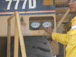 A735 Trap 777D Haul Truck