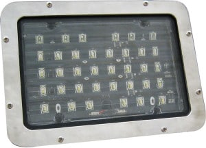 Speaker A524 Series Panel Mounted LED Scene Light - Marine