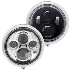 "J.W. Speaker 8701 7"" Round LED Hi/Lo Beam Headlamps"