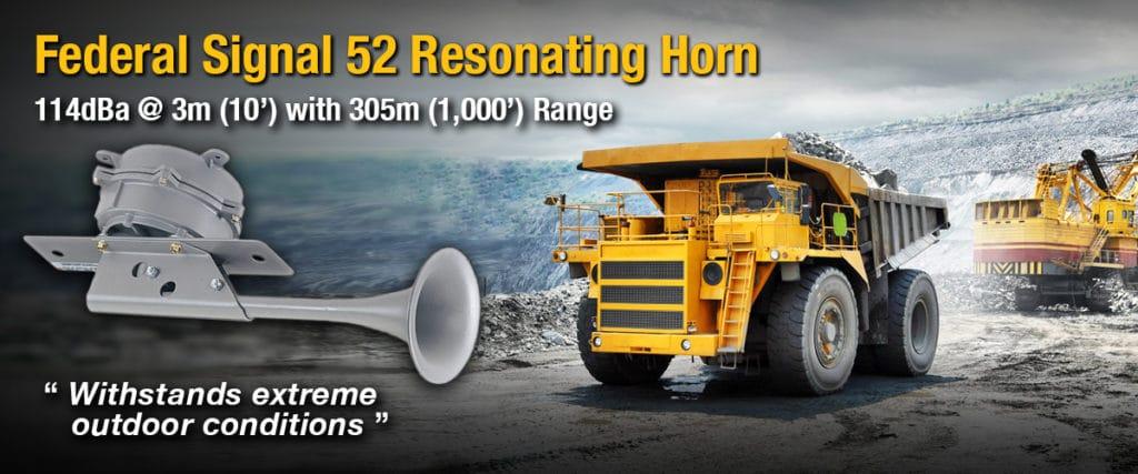 Federal Signal Model 52 Resonating Horn