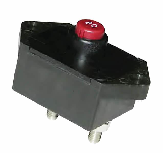 Klixon Sealed Manual Reset 80 amp Thermal Circuit Breaker SDLM-80-1