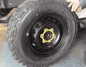 MACS Wheel Nut Retention System