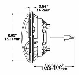 Speaker 8700 Evolution 2 line drawing