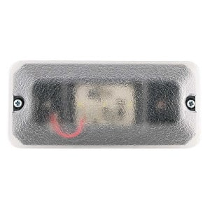 J.W. Speaker A410 Series 3″ x 7″ Rectangular LED Dome Light