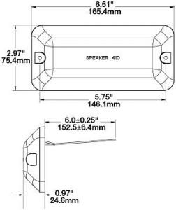 Speaker A410 Series 3
