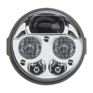 Speaker 8415 Round 4.5 LED Headlights 2
