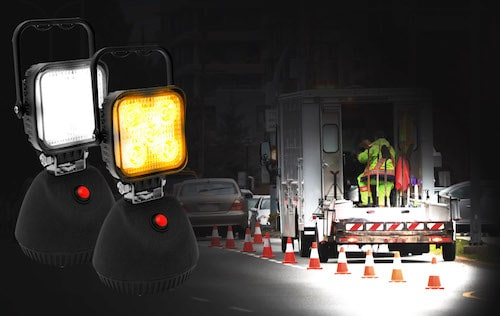 ECCO EW2461 Magnetic Rechargeable LED Worklamp application