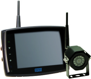 ECCO EC5605-WK LCD Colour Wireless System