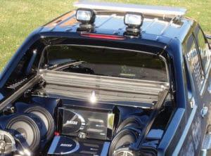 Golight Stryker on vehicle roof