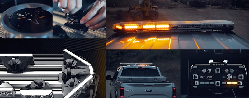 ECCO Axios - modular LED lightbar system