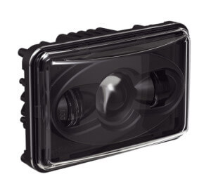Speaker 8800 Evolution Series Low Beam Headlight with Black Bezel