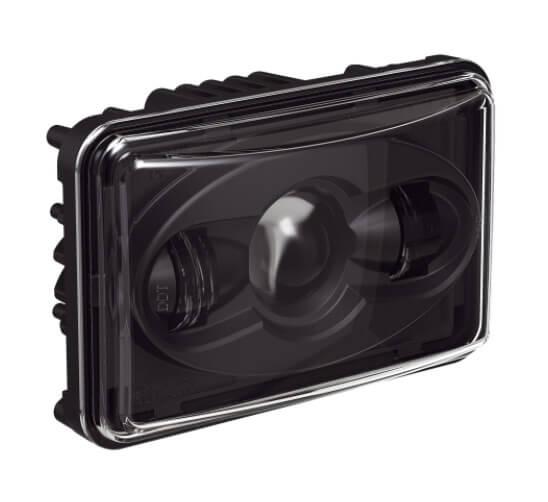 Speaker A8800 Evolution Series Low Beam Headlight with Black Bezel