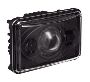 Speaker 8800 Evolution Series High Beam Headlight with Black Bezel