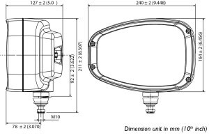 ABL 3800 LED - line drawing