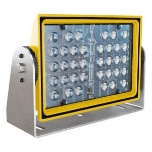 J.W. Speaker A523BLU – 10″ x 7″ Blue LED Safety Light