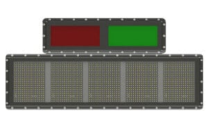 APS 5-character LED Vehicle Identification Display (VID) with Traffic Alert
