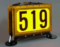 APS backlit Vehicle Identification Display (VID)