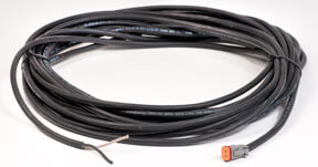 PC-EXT-50-1: 50 foot power cord, two wire and Deutsch connector