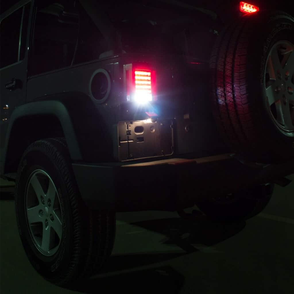 Led Lights In Series: J.W. Speaker 279 J Series LED Tail Lights For Jeep