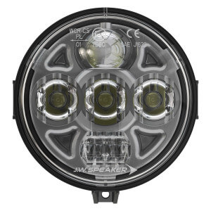 Speaker 8415 Evolution 4.5 Round LED Headlights