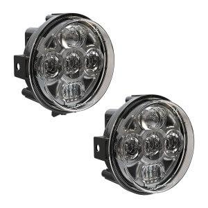 Speaker 8415 Evolution 4.5 Round LED Headlights