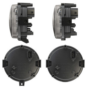Adjustable Mount (left) and Fixed Panel Mount (right)