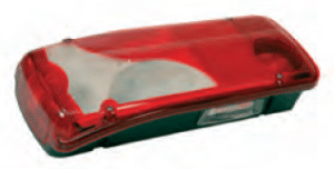 LC8 Series - Left Lamp with License Plate Lamp