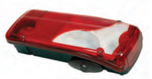 LC8 Series - Right Lamp with Reverse Alarm