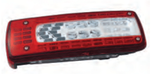 LC10 Series - Left lamp with license plate lamp