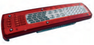 LC9 Series - Left Lamp with License Plate