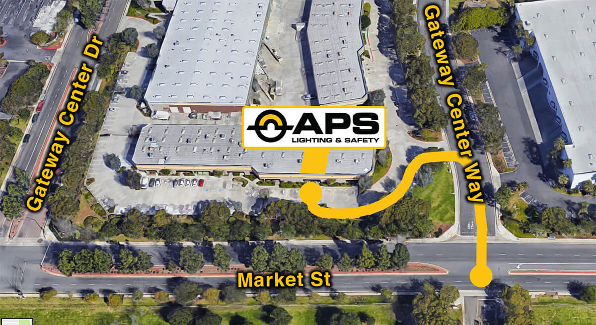 APS USA map