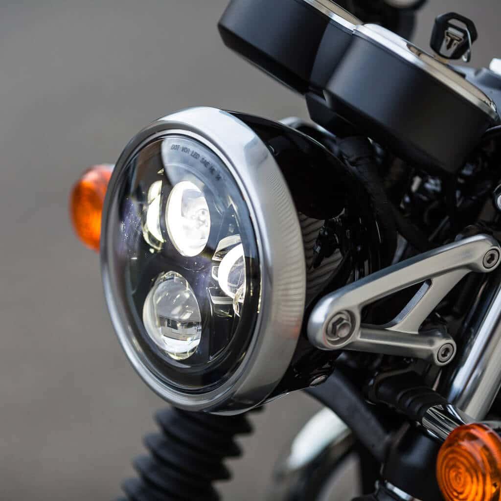 J.W. Speaker Metric Motorcycle LED Headlight Kits - APS for Motorcycle Headlight Design  300lyp