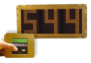 APS Programmable VID Message Board with In-cab Controller