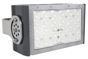 Vision X 140W Area Light with H-Duty Stainless Steel Bracket