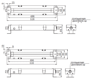 APS LW460 LED Walkway Light Series