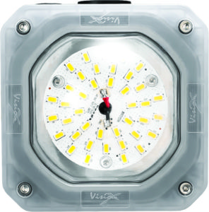 Vision X 10W Junction Box Light showing 40 LEDs